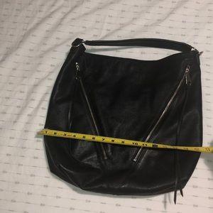 Rebecca Minkoff black leather purse, EUC